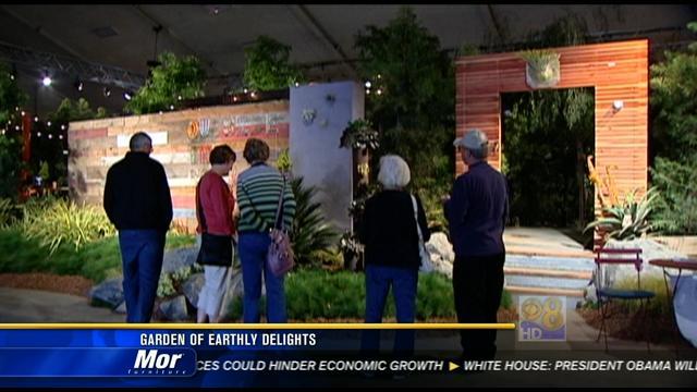 Spring Home Garden Show Garden Of Earthly Delights Cbs