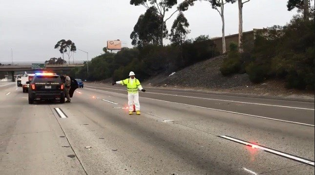 All Lanes Reopen After Pedestrian Struck And Killed On I 805 Cbs News 8 Sango Ca News Station Kfmb Channel 8