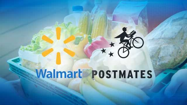 Postmates And Walmart Online Grocery Delivery Now In San Diego