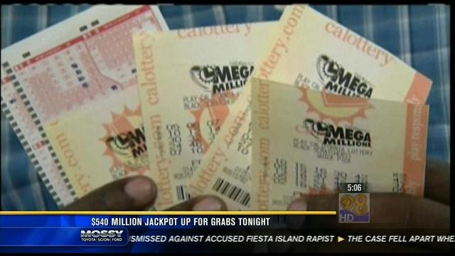 california lottery mega millions tv channel