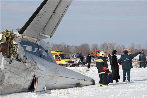 Plane crash in Siberia kills 31 of 43 on board - CBS News 8 - San