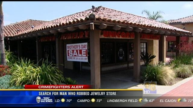 Used Jewelry San Diego Of Suspect Who Robbed Rancho Bernardo Jewelry Store Sought