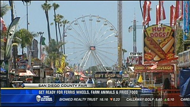 San Diego County Fair 2012 Get Ready For Ferris Wheels