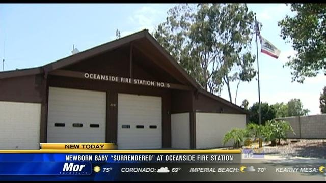 Newborn Baby Quot Surrendered Quot At Oceanside Fire Station Cbs