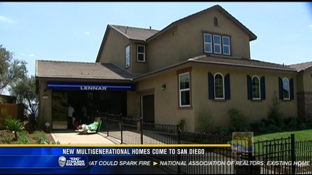 New multi generational homes come to san diego cbs news for Multi generational home builders