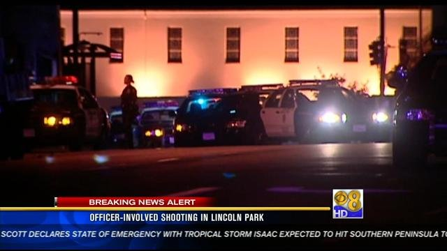 Officer Involved Shooting In Lincoln Park Cbs News 8