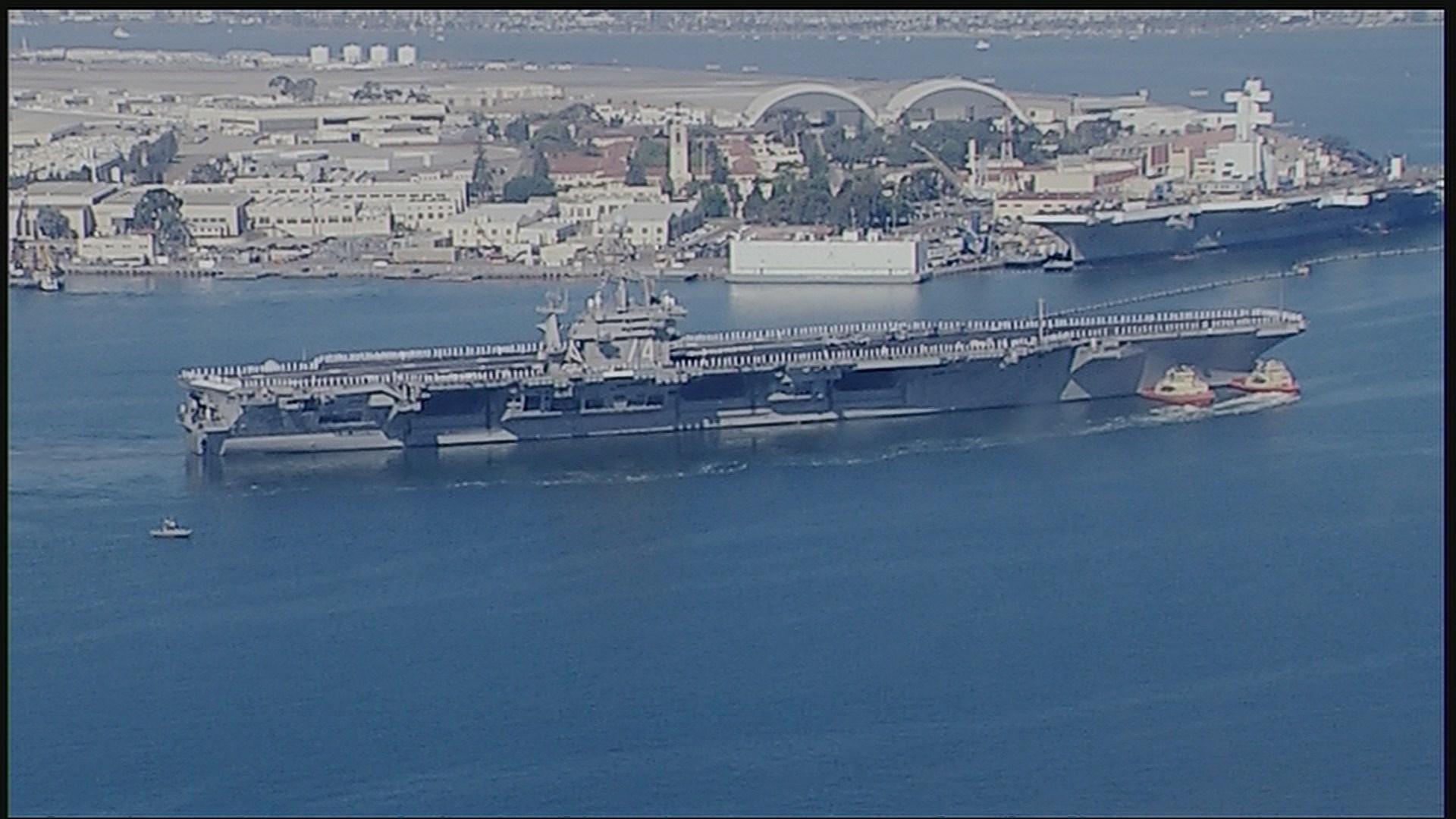 Uss Mobile Bay Deploys To Persian Gulf Cbs News 8 San