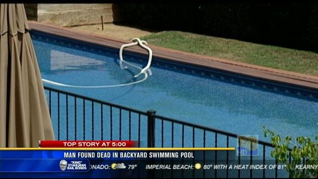 Man Found Dead In Woman 39 S Swimming Pool Identified Cbs News 8 San Diego Ca News Station
