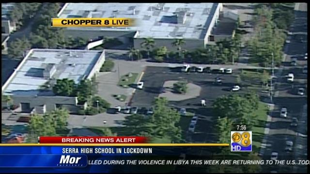 serra high school lockdown lifted cbs news 8 san diego
