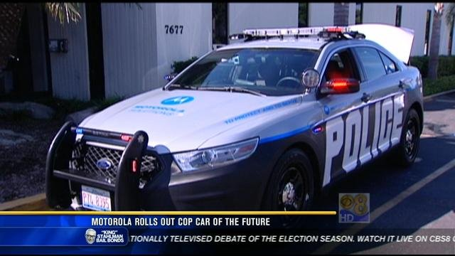 Motorola Rolls Out Cop Car Of The Future Cbs News 8