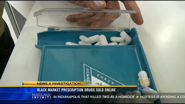 Black Market Prescription Drugs Sold Online