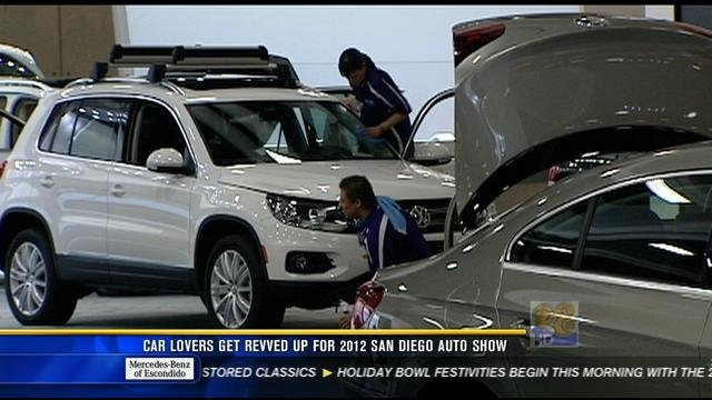 2013 san diego auto show kicks off thursday cbs news 8
