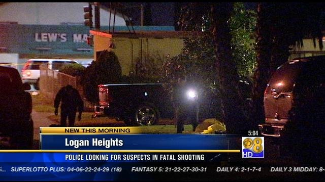 Police Search For Suspects In Fatal Logan Heights Shooting
