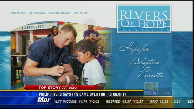 philip rivers says it u0026 39 s game over for rivers of hope