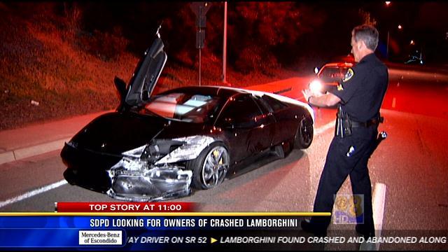 driver crashes newly purchased $250k lamborghini in la jolla - cbs