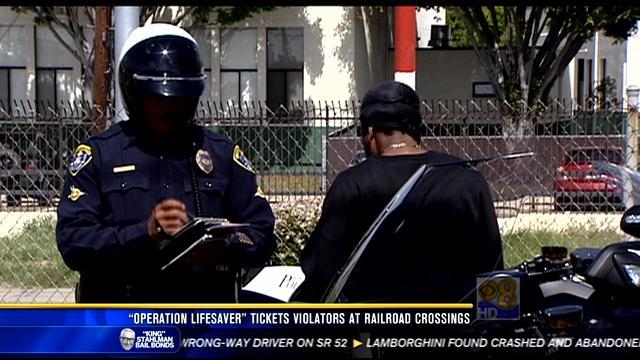 Quot Operation Lifesaver Quot Targets Violators At Railroad
