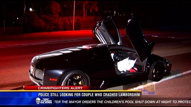 Police Still Looking For Couple Who Crashed Lamborghini Cbs News 8
