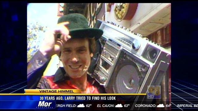 Vintage Himmel 30 Years Ago Larry Tried To Find His Look Cbs News 8 San Diego Ca News