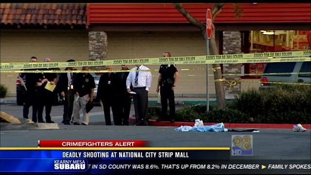 Police investigate deadly shooting in national city cbs for National motors san diego