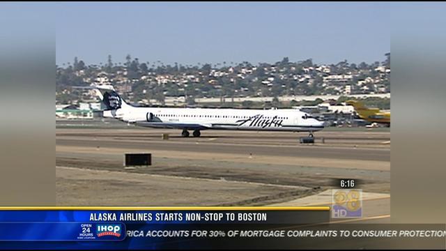 Alaska Airlines Starts Non Stop Flights To Boston Cbs