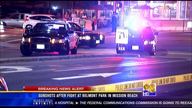 Search for gunman who opened fire near belmont park cbs for Worldwide motors san diego ca
