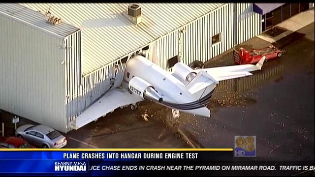 Chino California Airport Hangar at Chino Airport