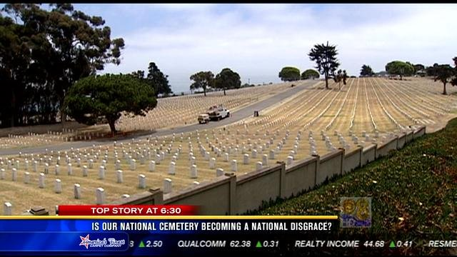 Is our national cemetery becoming a national disgrace for National motors san diego