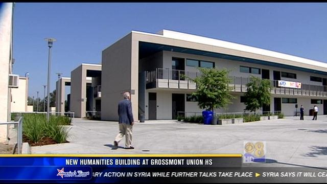 New Humanities Building At Grossmont Union High School