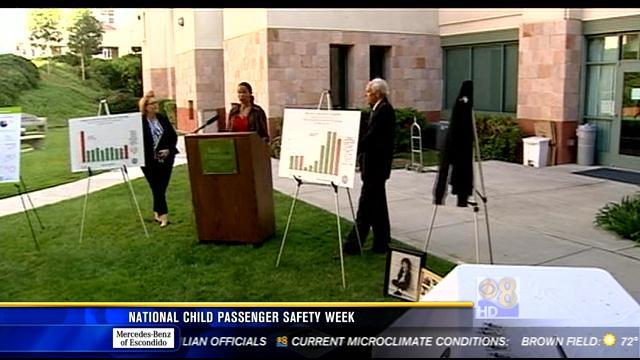 National child passenger safety week cbs news 8 san for National motors san diego