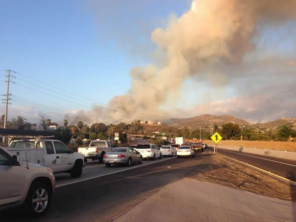 Search for possible arsonist after east county brush fires for Worldwide motors san diego ca