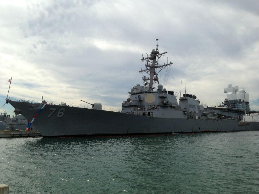 USS Higgins returns to San Diego - CBS News 8 - San Diego ...
