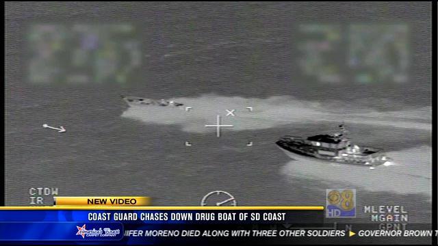 Coast Guard Chase Down Drug Boat Off San Diego Coast Cbs News 8 San Diego Ca News Station