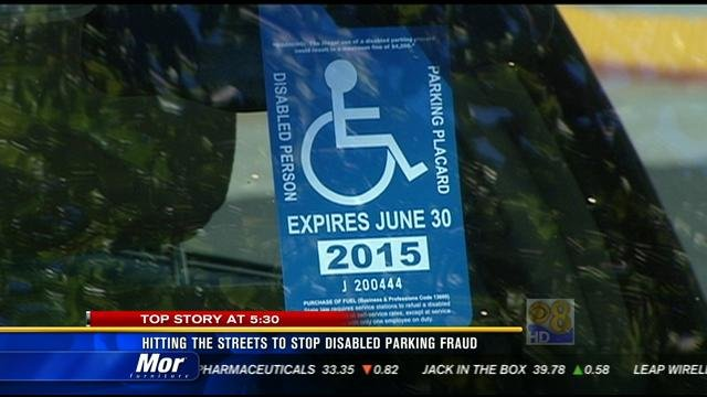 Honda San Diego >> Hitting the streets to stop disabled parking fraud - CBS ...
