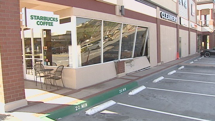 Driver Slams Into Mission Valley Starbucks CBS News 8 San Diego CA News