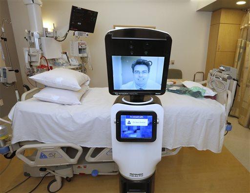 Robots Let Doctors Beam Into Remote Hospitals Cbs News 8 San Diego Ca News Station Kfmb