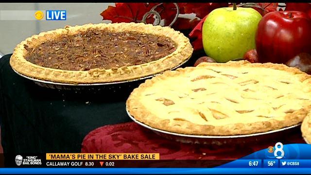 Mama s pie in the sky bake sale cbs news 8 san diego ca news