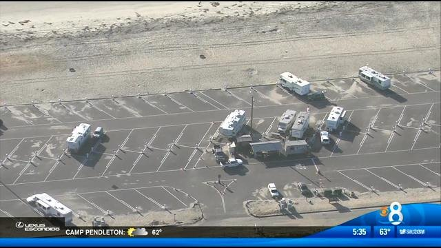 Station Park Honda >> Silver Strand offering electrical and water hook-ups - CBS News 8 - San Diego, CA News Station ...