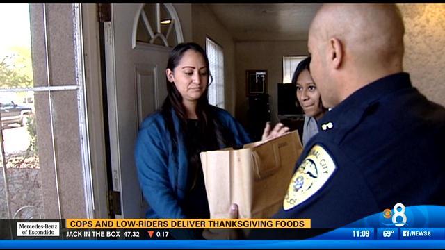 Post Thanksgiving good-cop story. Sorta amusing. Definitely sweet.