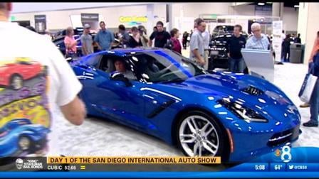 The Newest And Hottest Cars At San Diego International Auto CBS - San diego convention center car show