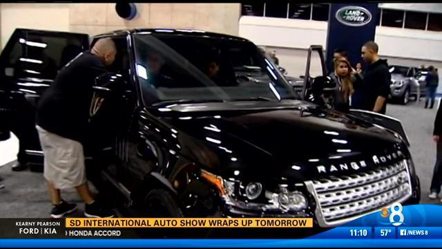 Final day of san diego international auto show cbs news for Worldwide motors san diego ca