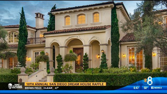 10th annual san diego dream house raffle cbs news 8 for California dream house