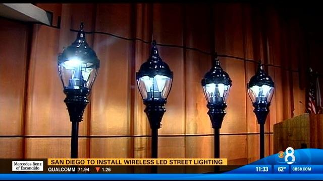 SAN DIEGO (CNS)   The City Of San Diego And General Electric Announced  Tuesday That A Program To Replace 3,000 Street Lamps Around The Downtown  Area With ...