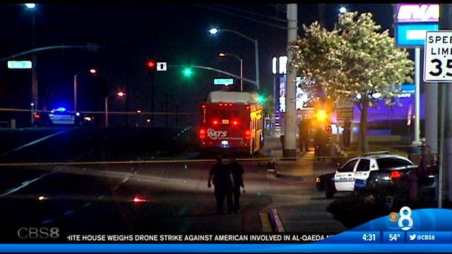 Pedestrian killed in hit run in national city cbs news for National motors san diego