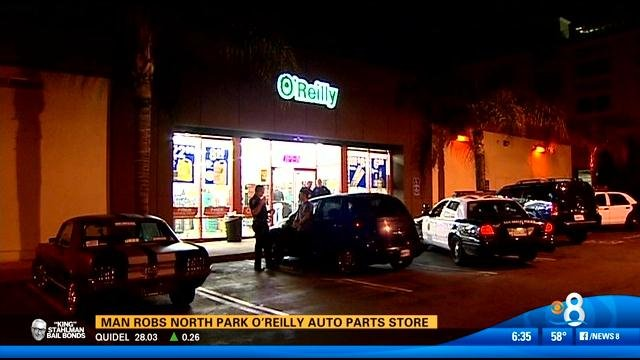 Auto parts store robbed in north park cbs news 8 san for Worldwide motors san diego ca