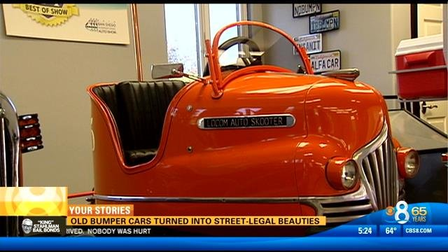 Old Bumper Cars Turned Into Street-legal Beauties - Cbs News 8