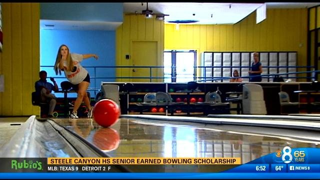 Steele Canyon High School Senior Earns Bowling Scholarship