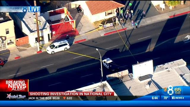 Police investigate fatal shooting in national city cbs for National motors san diego
