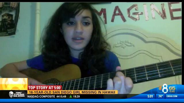 San Diego Honda >> 16-year-old San Diego girl missing in Hawaii - CBS News 8 ...
