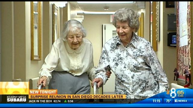 Surprise Reunion In San Diego 7 Decades Later Cbs News 8