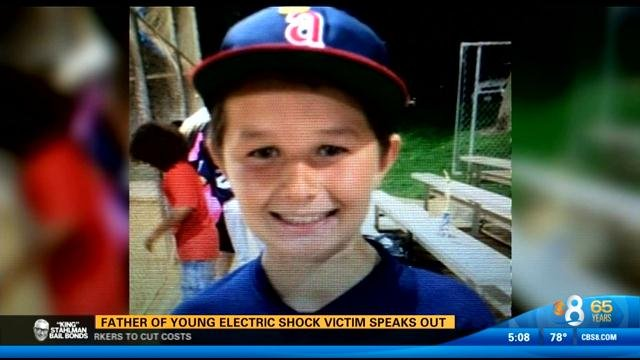 San Diego Electric >> Father of young electric shock victim speaks out - CBS ...